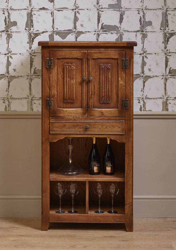 The OC3018 Old Charm Drinks Cabinet