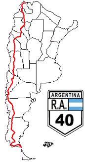tramos de la ruta