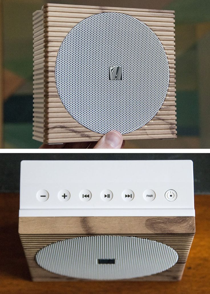 These stylish portable Bluetooth speakers really stand out.