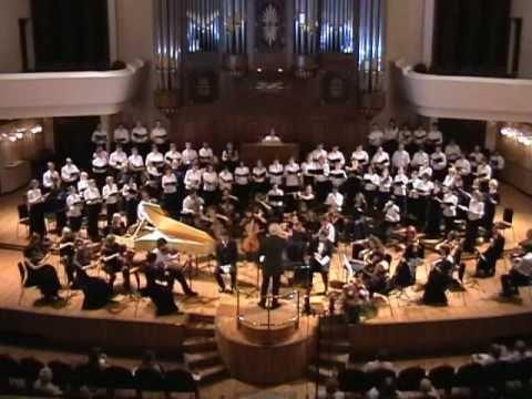 """Johann Sebastian Bach (1685 - 1750) Johannes - Passion (St John Passion) BWV 245 Chorus """"Herr, Herr, Herr, unser Herrscher"""" Soloists: Olga Kondina(soprano) E..."""