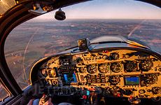 SkyHawk  C172SP Circling Halifax