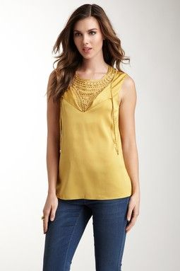 Alexis Beaded Georgette Blouse