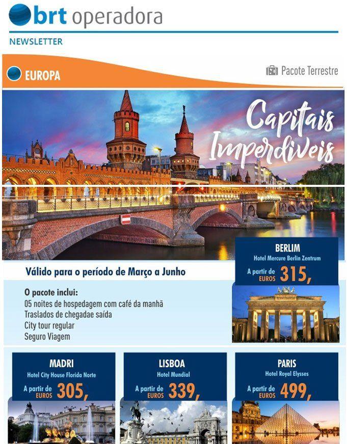 BRT OPERADORAEUROPA - CAPITAIS imperdíveis l Pacotes Terrestres ( Paris, Roma, Madri, Berlim, Londres, Lisboa e Bruxelas )https://t.co/OPYg3j2RMb#BRTOPERADORA #EUROPA #GRUPOBRT #CAPITAIS #imperdiveis #Pacotes #Paris #Roma #Madri #Berlim #Londres #Lisboa #Bruxelas #MAILNEWS https://t.co/GvgQwIneDH