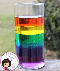 Kindergarten Lifestyle: Liquid Rainbow