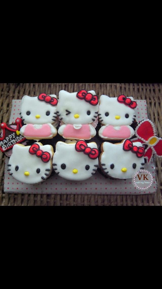 Hallo Kitty Cupcake !