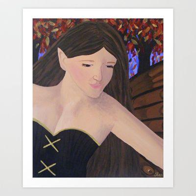 Autumn Fairy Art Print by Sheridan van Aken - $22.88