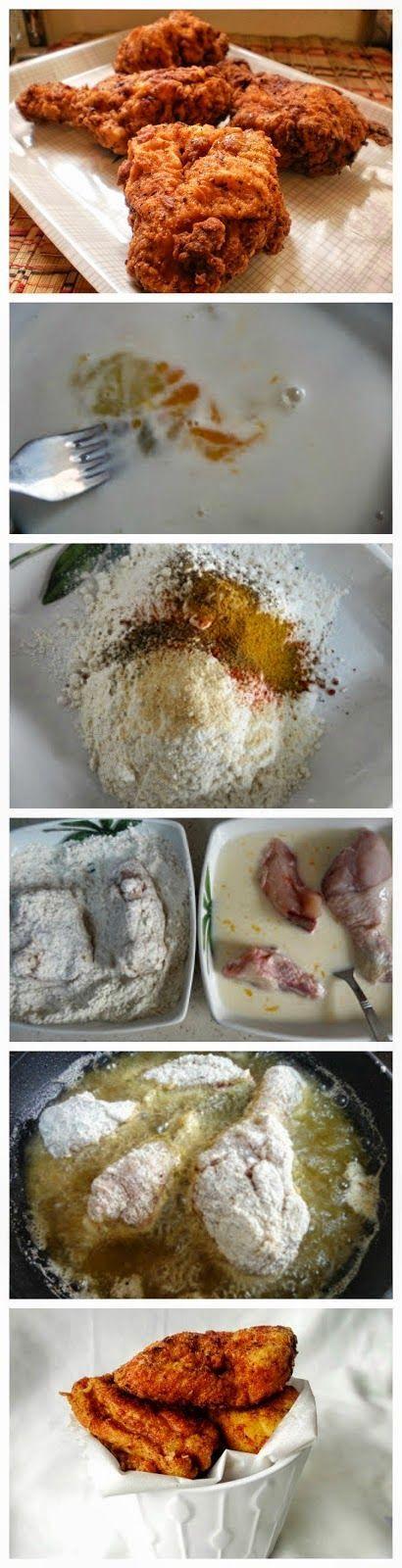 Homemade Kentucky Fried Chicken Recipe