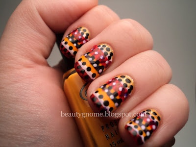 Neon Tribal Print nail art at beautygnome.blogspot.comNails Inspiration, Neon Tribal, Nails Nails, Polka Dots, Nails Art, Tribal Print Nails, Tribal Prints Nails, Nail Art, Stripes Nailart
