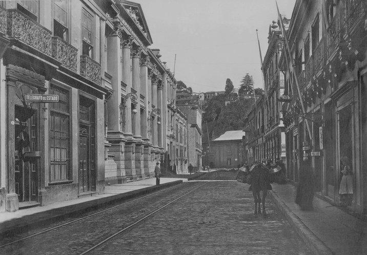 Calle Serrano en 1900.   ---   Im.012