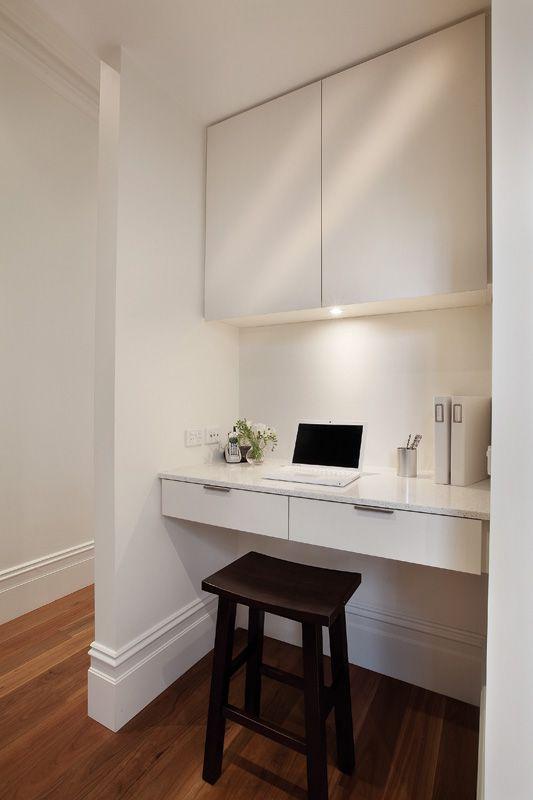 Desk idea. Beautiful Home by Jo McIntyre