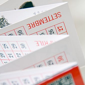 I nostri calendari a fisarmonica  #duemilaquindici BDprint.it | Stampa professionale per editori e possessori di Partita Iva
