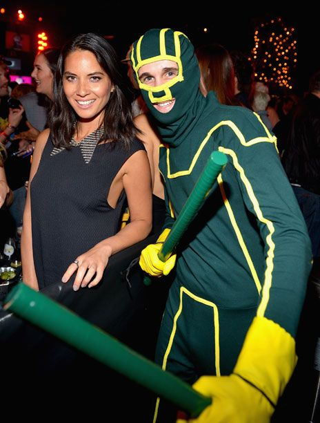 Olivia Munn at the Playboy and Universal Pictures' Kick-Ass 2 event at Comic-Con.
