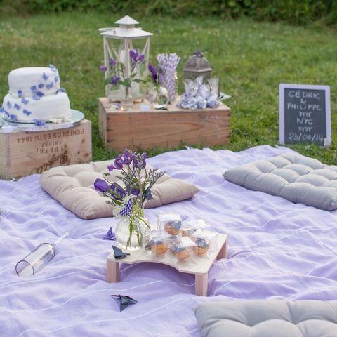 Very Romantic Outdoor Picnic Wedding Ideas