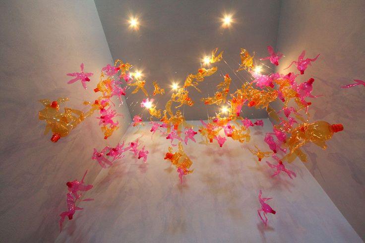 Nebula - Plastic Installations by Enrica Borghi