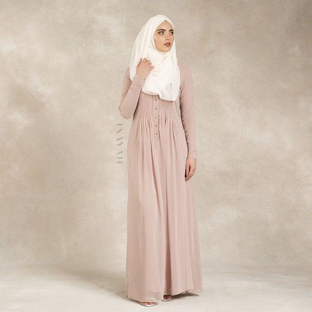 INAYAH | Pale Blush Georgette #Abaya + Off-White Georgette #Hijab www.inayahcollection.com #Inayah #inayahclothing #modeststyle #modesty #modest fashion #hijabfashion #hijabi #hijabifashion #covered #Hijab #jacket #midi #dress #dresses #islamicfashion #modestfashion #modesty #modeststreestfashion #hijabfashion #modeststreetstyle #modestclothing #modestwear #ootd #cardigan #springfashion #INAYAH #covereddresses #scarves #hijab #style