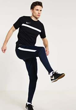Nike Performance - STRIKE TECH - Trainingsbroek - obsidian/obsidian/white/white