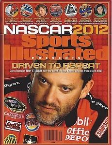 January 2012 Sports Illustrated NASCAR Racing Edition Tony Stewart Cover | eBay