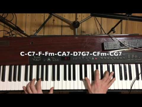 Slow Slow New Orleans Piano with no no fast notes. Almost. - YouTube