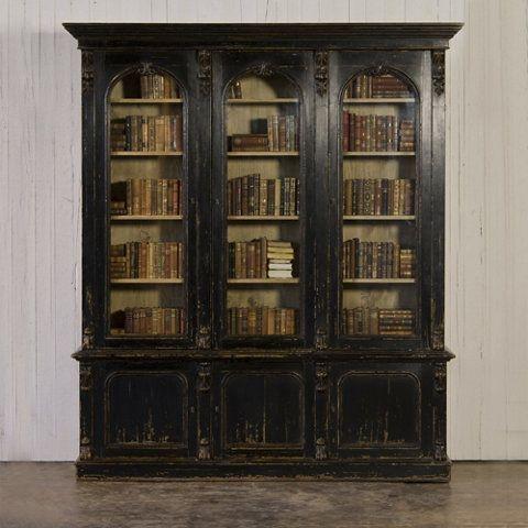Victorian Bookcase - Furniture - RLH Collection - Ralph Lauren Home - RalphLaurenHome.com