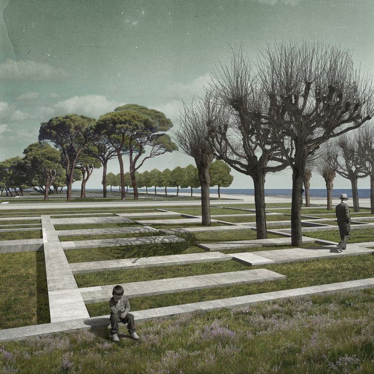 Kostas Manolidis · The park of the buried houses · Divisare