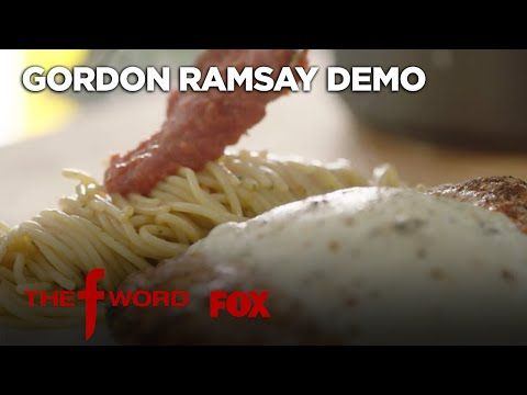 Gordon Ramsay's Chicken Parmesan Recipe: Extended Version | Season 1 Ep. 3 | THE F WORD - YouTube