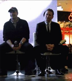 Tom watching fan-made UCC (gif set) - Oh my goodness! His reaction is amazing!