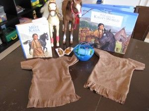 Learning with the historical American Girl Doll, Kaya. Crafts, activities and more to go with this series of books about early Native American history.