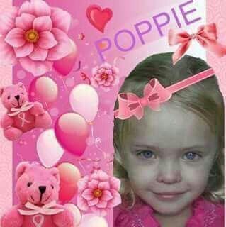 This little girl named Poppie was brutally beaten to death by her stepfather. She was only (3). I hope you rot in jail!!