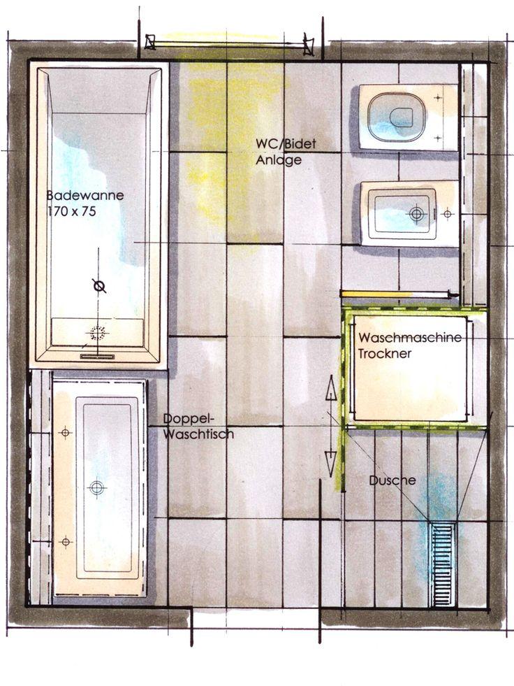 Kleine Bäder: Acht Quadratmeter Raum praktisch gestalten - bauen.de