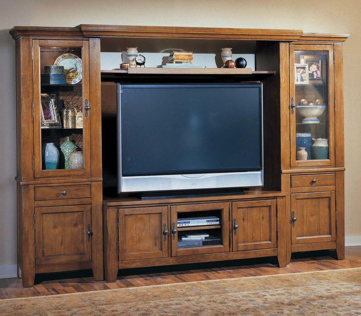 Attic Heirlooms Entertainment Wall By Broyhill Furniture