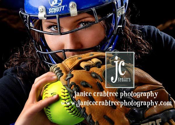 senior softball portraits | Softball Pictures