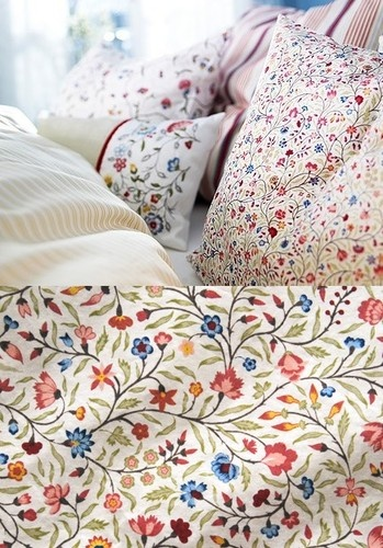 Ikea Alvine Ljuv Duvet Quilt Cover Full Queen Double King Twin French New Nip