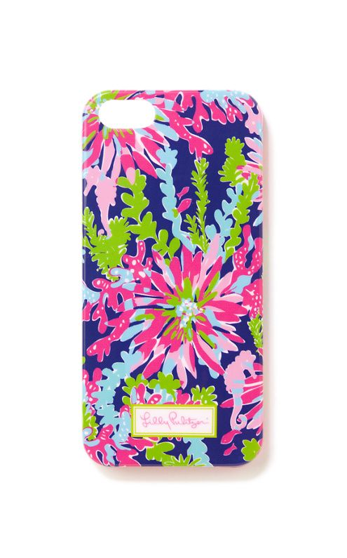 Lilly Pulitzer iPhone 5/5S Cover in Trippin and Sippin