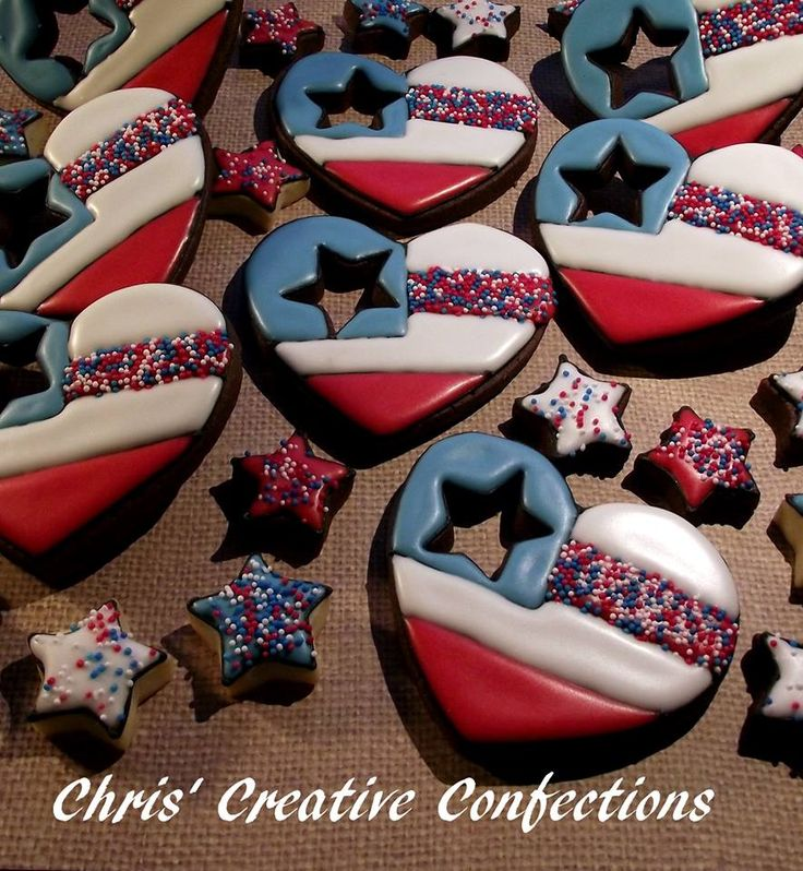 4th Of July Decorated Cookies For Inspiration