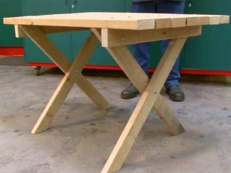M s de 25 ideas incre bles sobre patas de mesa plegable en - Como hacer patas de madera para mesas ...