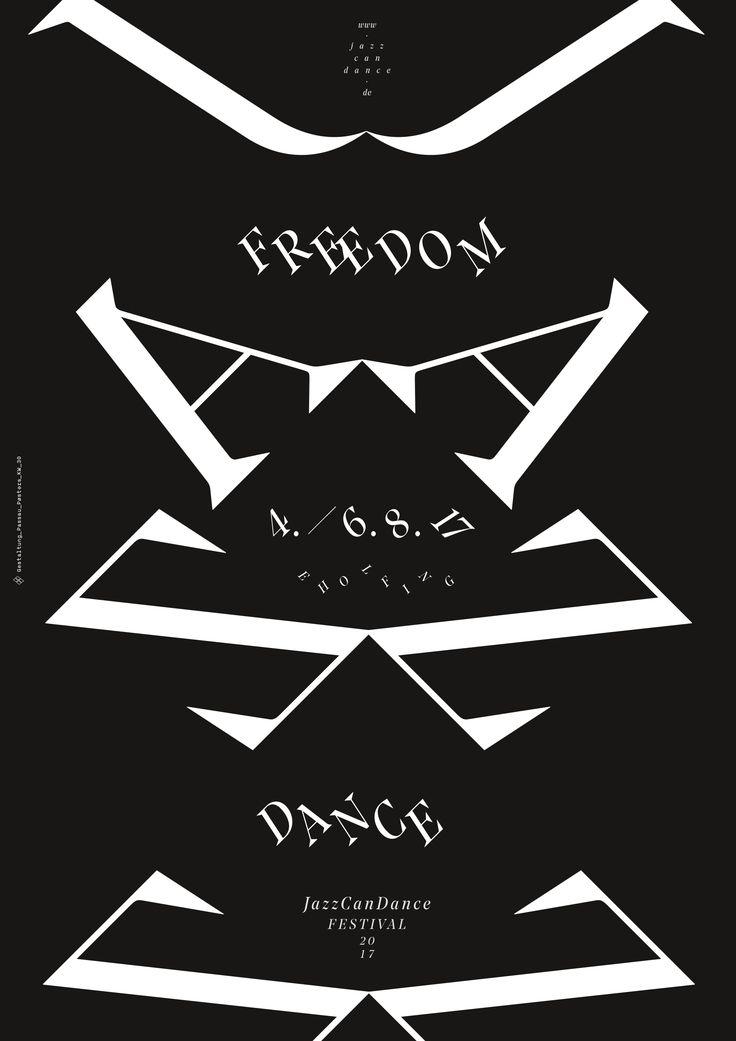 #passau_posters #kw_33 #jazz_can_dance #festival #jazzposter #freedom #dance #passau #poster #posters #plakat #postershow #typoposter #typoplakat #typography #typograhyinspired #typo #typo_weekly #blackandwhitetypography #blackandwhite #minimal #graphicdesign #nicethat #instadaily #manuelkreuzer #manuel_kreuzer