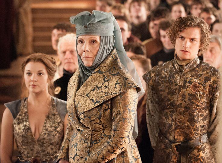 Queen Margaery, Lady Olenna, Loras Tyrell
