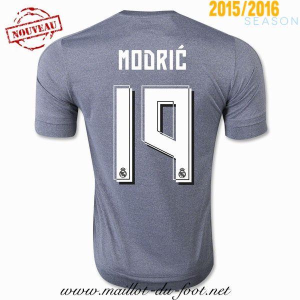 vetement Maillot de foot Real Madrid Modric 19 Exterieur 2015 2016 shop