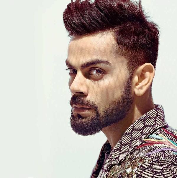 Virat Kohli Pompadour Hairstyle Virat Kohli Hairstyle Beard Styles Hair And Beard Styles