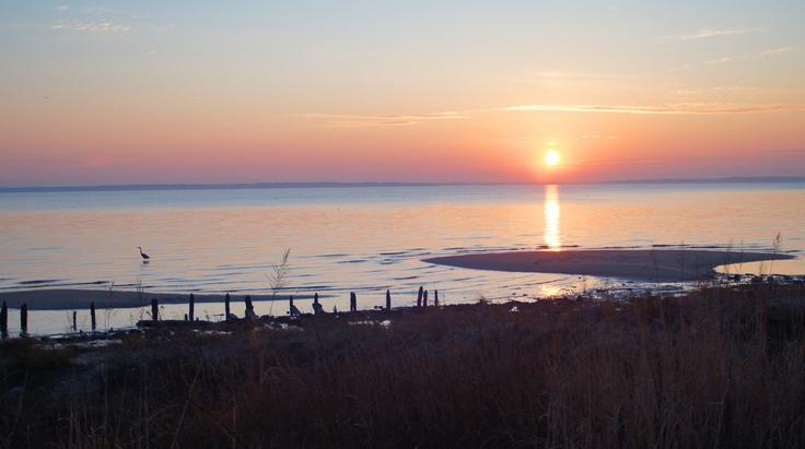 Sunset on the James, Newport News, Virginia