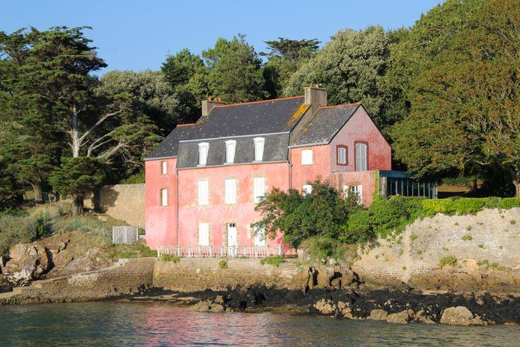 Le golfe du morbihan la maison rose de port anna wbzh for Eugenie les bains la maison rose