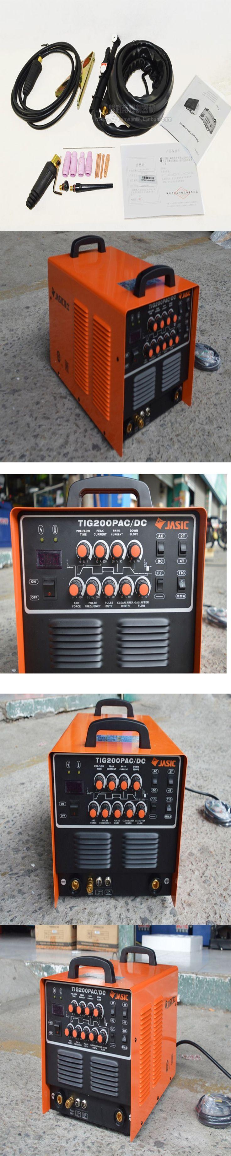 High Quality JASIC WSE-200P TIG200P AC/DC TIG/MMA Square Wave Pulse Inverter Welder 220-240V