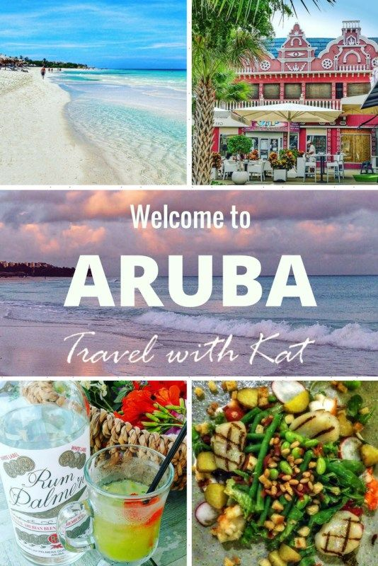 Welcome to Aruba, one happy island!