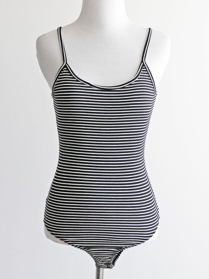 Tautmun - KERLAN STRIPED BODYSUIT - BLACK, $14.99 (http://www.tautmun.com/kerlan-striped-bodysuit-black/)