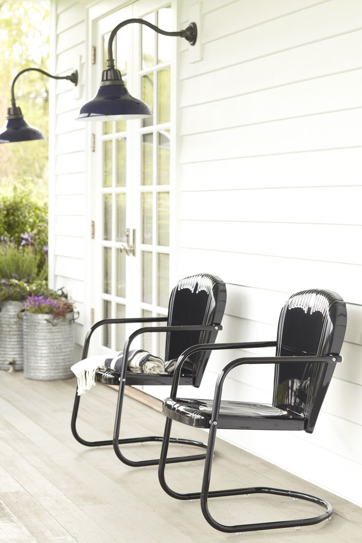 Lawn Chairs  Garden Chairs  Black Metal Chairs  Outdoor Sconces  Outdoor  Lighting  Metal Furniture  Outdoor Furniture  Find Someone Who  Vintage  Chairs. Best 25  Metal patio chairs ideas on Pinterest   Metal patio