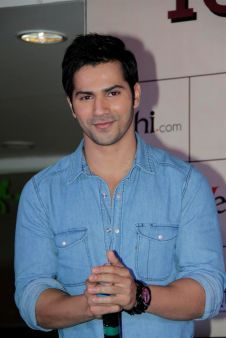A beautiful picture of Sexy Varun Dhavan In Press Conference  downloaded from http://alliswall.com