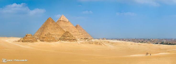 As 9 Pirâmides Do Egito (panorama de 18 fotos!) - Cara da Foto