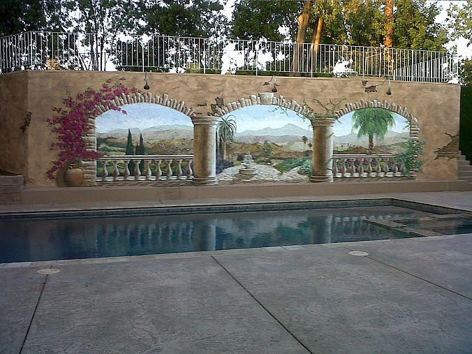 42 best images about fence murals on pinterest gardens for Cypress gardens mural