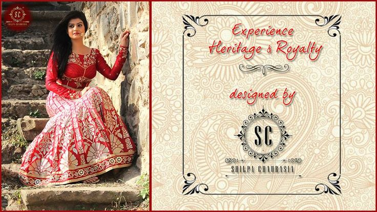 Presenting 'Bridalsutra' the newest line of ethnic collection by Shilpa Cahurasia couture!