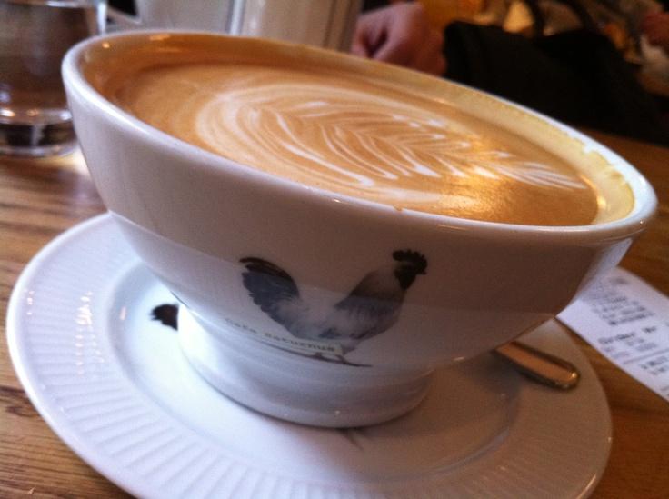 At Cafe Saturnus in Stockholm